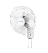 Heller 40cm 3-Speed Wall Fan w/ Pull Cord