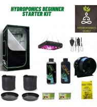Hydroponics Beginner Starter Kit with Led