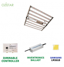 OZiSTAR GROW  8 BAR LED 630 W
