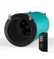 Sigilventus EC Silenced Fan 250mm  With Speed Controller