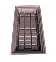 Flood And Drain Tray  120 X 60   30 LT