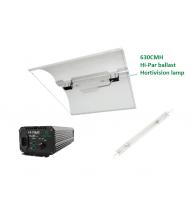 Hi-par 630CMH Complete Kit With Defender Large Shade