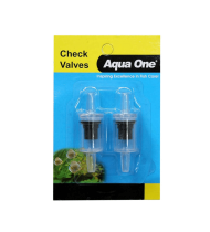 AQUA ONE AIR LINE CHECK VALVE 2 PACK