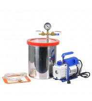 3 Gal Stainless Steel Vacuum Degassing Chamber