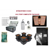 HYDROPONICS 5X5 TENT COMPLETE KIT WITH LED