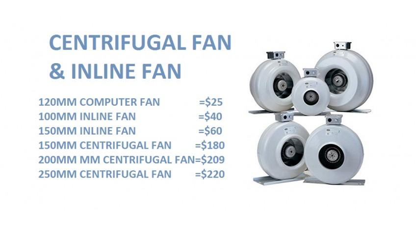 Hydroponics fan