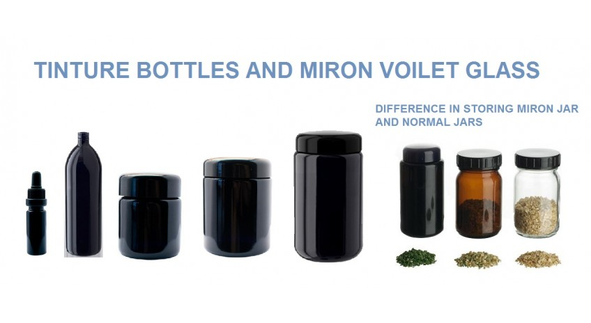 Hydroponics mirron jars & bottles