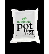 NF POT LINER 20 L  3PK