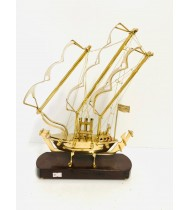 GOLDEN COLOR SMALL SIZE SHIP