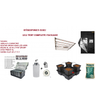 HYDROPONICS 5X5 TENT COMPLETE PACKAGE