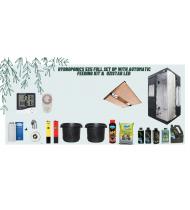 Hydroponics 5x5 full set up with automatic feeding kit &  Ozistar Led