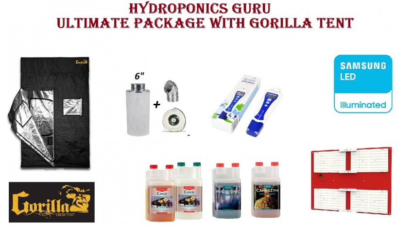 HYDROPONICS ULTIMATE KIT WITH SAMASUNG HLG