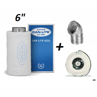 CARBON FILTER/FAN & DUCTING 150mm
