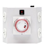 SEAHAWK HEAVY DUTY TIMER 15 AMP 4 OUTLET