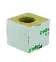 GRODAN WRAPPED ROCKWOOL CUBE  4G + HOLE